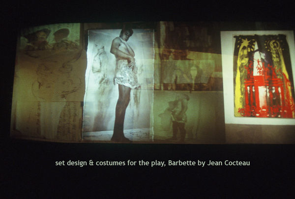 costume + set design for Barbette, a play by Jean Cocteau